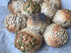 Lavkarbo | Skikkelige rundstykker Sugar Free Recipes, Low Carb Keto, Lchf, Free Food, Muffin, Food And Drink, Health Fitness, Bread, Snacks