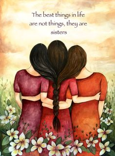 the best things in life..sister by claudiatremblay on Etsy