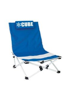 Sit back and relax on this cozy, versatile beach chair.