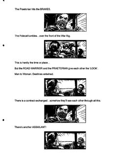 Post with 13 votes and 3725 views. Shared by Mad Max Fury Road - Original Script / Storyboard excerpts The Road Warriors, Mad Max Fury Road, Storyboard, Trending Memes, Script, Funny Jokes, Comic, Album, The Originals