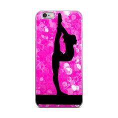 Gymnastics iPhone case