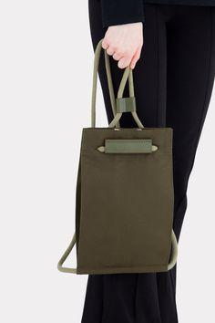 Pocket Bag Small Army Green