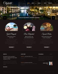 city hotel joomla template