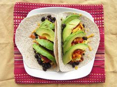 Black Bean, Egg, and Avocado Wrap & other Breakfast Ideas with Avocado
