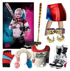 """""""Harley Quinn: Modern"""" by taoptimist on Polyvore featuring modern"""