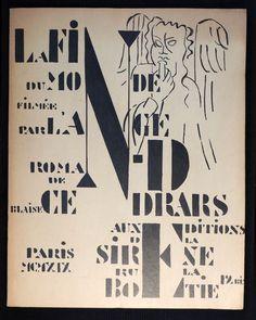"""""""LA FIN DU Monde"""" DE Blaise Cendrars EO Illustrée PAR Fernand Léger 1919   eBay"""