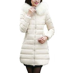 Qiangsoo Women Winter Cotton Padded Jacket Warm Puffer Down Coat Slim Hooded Long Parka. Washing Instructions: HAND WASH ONLY / HANG DRY / DO NOT BLEACH / LOW IRON  Due to differences in computer monitors, the colors may be slightly different between the actual product and what you see from your...  More details at https://jackets-lovers.bestselleroutlets.com/ladies-coats-jackets-vests/down-parkas/parkas/product-review-for-qiangsoo-women-winter-cotton-padded-jacket-warm-puf