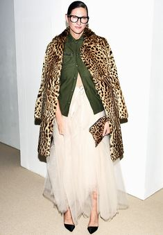 Jenna Lyons Just Wore the Cool-Girl Party Outfit of 2016 via @WhoWhatWearUK Pinterest: KarinaCamerino