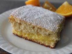 Gâteau garni de crème à l'orange Cooking Chef, Recipe Images, Cornbread, Creme, Muffins, Gluten, Ethnic Recipes, Blog, Cakes