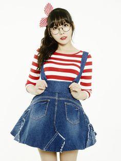 Raina (Orange Caramel) | official concept photo for 나처럼 해봐요 (My Copycat)
