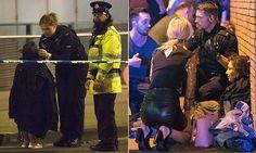 Witnesses tell of horror at Manchester 'terrorist attack'