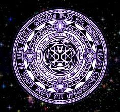 Selenes Takeover Magic Circle by Deyleirine on DeviantArt Magic Circle Crochet, Magic Ring Crochet, Spell Circle, Summoning Circle, Magia Elemental, Desenhos Harry Potter, Magic Loop, Magic Symbols, Mystique