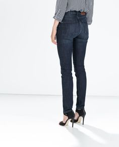 Image 3 de PANTALON DENIM SUPER SKINNY HIGH RISE de Zara