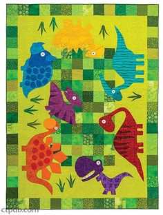Big, Playful Appliqués in Playtime, Naptime, Anytime Quilts - C&T Publishing