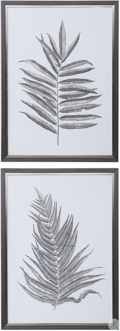 Savesto Ivory Small RAF Sectional from Ashley   Coleman Furniture Frames On Wall, Framed Wall Art, Wall Art Prints, Poster Prints, Silver Fern, Wall Art Sets, Botanical Prints, Ferns, Artwork
