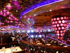 Bacchus Dining Room on the Carnival Miracle
