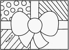 Resultado de imagem para arvores de natal de romero de brito para colorir e imprimir