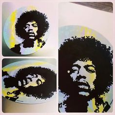 Jimi Hendrix Record Art Made To Order by tigerbee on Etsy