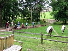 The Archery Range at Camp Eberhart