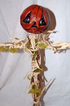 Scarecrow by TheTwistedPumpkin on Etsy, $30.00