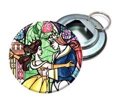 Beauty and the Beast Stain glass Image  Pick From 2.25 by MayoBass, $2.25