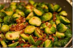 Brussle Sprouts with Prosciutto and Lemon