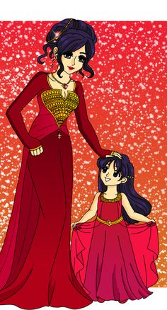 Mars - Queen and Princess by Sailor-Serenity on deviantART
