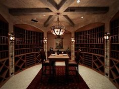 Image result for home wine cellar
