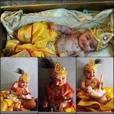 47 Best Ideas for baby boy fashion birthday Cute Kids Photography, Newborn Baby Photography, Creative Photography, Photography Poses, Wedding Photography, Baby Boy Dress, Baby Boy Outfits, Baby Krishna, Lord Krishna