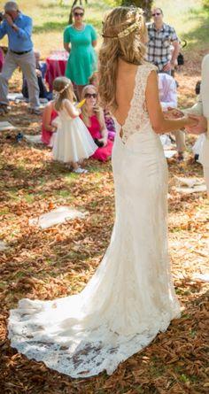 Lilli Marcs, Emma Dress Silk Size 6 Wedding Dress For Sale   Still White Australia