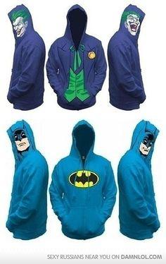 Bat hoodies