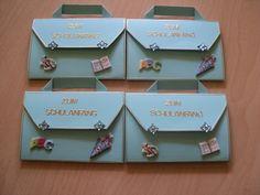 4 ST Einladung/Einschulung/Schulanfang von Kartenträume auf DaWanda.com