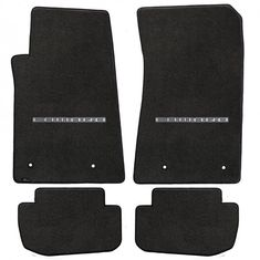 Camaro 2010-2015 4Pc Mats Ebony Velourtex Camaro Logo. A popular priced original equipment replacement mat with a heavier, denser face than factory mats. Velourtex provides outstanding value, with a silky smooth texture, created from premium nylon yarn. Velourtex features the same multi-layer backing as Lloyd's higher priced custom mat products, designed specifically for automotive use. Our backings feature moisture resistance, stiffness to maintain the mat shape and skid-resistance due to…