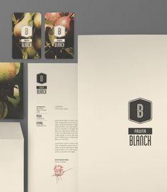 Fruita Blanch Anuaria #logo #branding #design