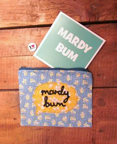 'Mardy Bum' iconic Sheffield words from Beth Haudiquet and Character Shop