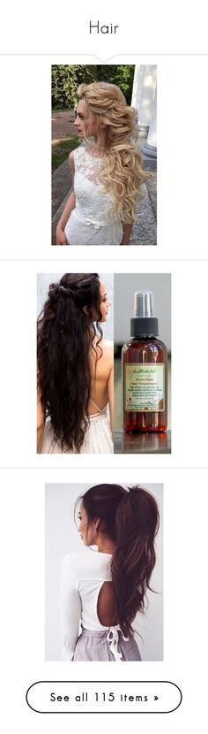 """""""Hair"""" by bjohnson0915 ❤ liked on Polyvore featuring beauty products, haircare, hair styling tools, hair, hair color, pictures, hairstyles, beauty, hair styles and cabelos"""