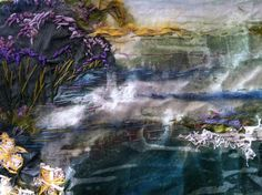 WIP - laura Edgar - #textile art #hand embroidery