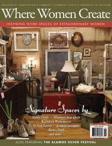Inspiring work spaces of extraordinary women @Where Women CREATE Magazine May 2013