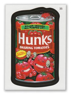 Wacky Packages - 7th Series 2010 Sticker #35 Hunks