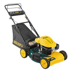 The Yard Man Electric Start Self-Propelled Side Discharge Mower Lawn Mower Lawn And Garden, Garden Tools, Power Tools, Lawn Mower, Outdoor Power Equipment, Electric, Yard, Gardening, Lawn Edger