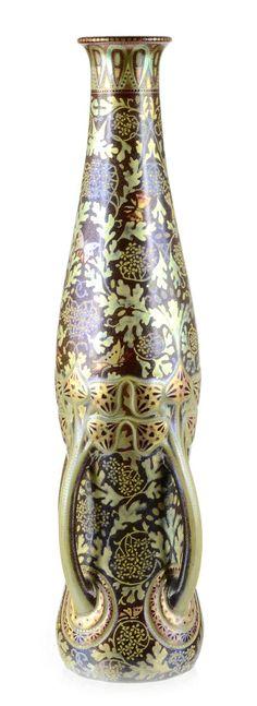 Zsolnay multikolor eozin váza