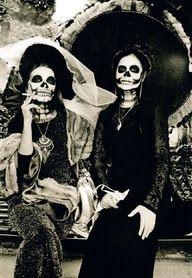 Susan de Witt - Day of the Dead - lith prints Theme Halloween, Halloween Makeup, Halloween Face, Halloween Costumes, Dexter Halloween, Skeleton Costumes, Halloween Photos, Halloween 2017, Holidays Halloween