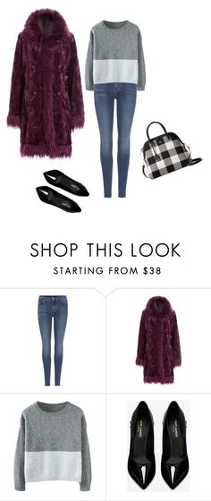 """""""Untitled #528"""" by princesaurbana on Polyvore featuring 7 For All Mankind, Anna Sui, Yves Saint Laurent and Kate Spade"""