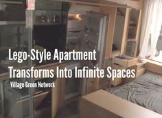 Lego-Style Apartment Transforms Into Infinite Spaces / http://villagegreennetwork.com/lego-style-apartment-transforms-infinite-spaces/