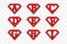 #Superman #letters v2 ~ Illustrations on Creative Market