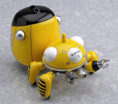 Buy PVC figures - Ghost in the Shell S.A.C PVC Figure - Nendoroid Tachikoma Yellow - Archonia.com