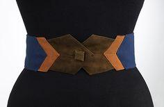 Belt Attributed to Elizabeth Hawes (American, Ridgewood, New Jersey 1903–1971 New York) Date: ca. 1937 Culture: American Medium: silk, leather