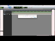An easy beginner tutorial to pro-tools 10. Quick and easy and to the point!