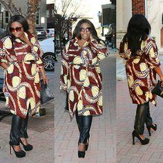 @mccallpatterncompany #m7480 #thatssewmonica #africanfashions #ankara #ankaraouterwear