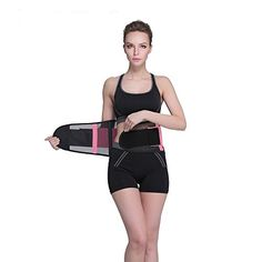 Waist trimmer Belt Fancyteck Breathable Waist Trainer Belt Waist Slimming Belt For Hourglass Shape L Pink >>> Visit the image link more details. (This is an affiliate link and I receive a commission for the sales) Waist Trainer Reviews, Best Waist Trainer, Hourglass Shape, Hourglass Figure, Latest Fashion Trends, Trendy Fashion, Improve Posture, Gaines, Waist Training
